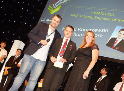 Young Engineer of the Year Winner