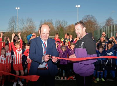3G Pitch Official Opening – Gary Rowett